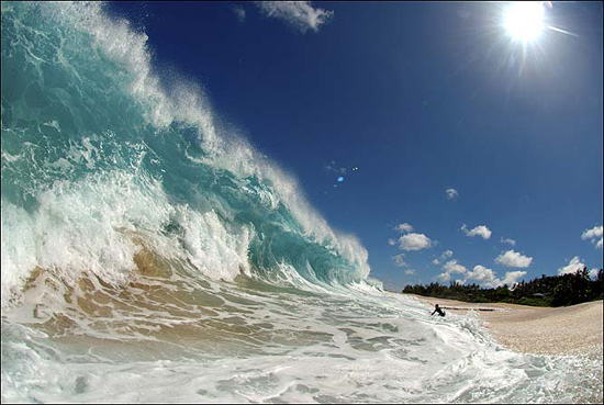 Most beautiful ocean waves