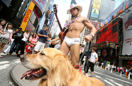 naked-cowboy-with-dog
