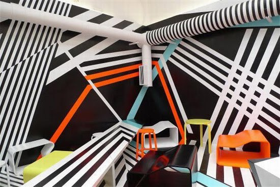 Bar with Psychedelic Interior Design » This Blog Rules | Why go ...