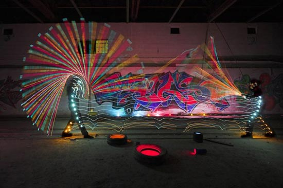 light-paint-fight