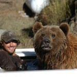 Man living with a Grizzly bear