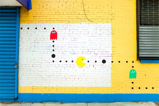 pacman-on-real-streets