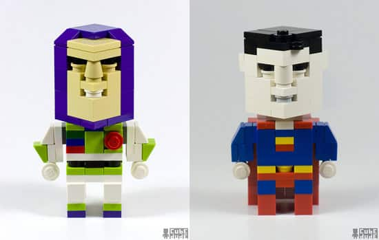 Buzz Lightyear and Superman
