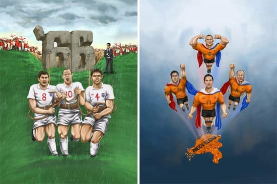 england-and-holland