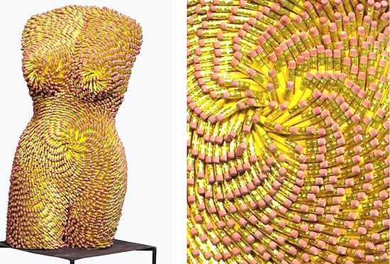 pencil-sculpture