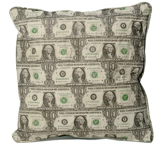 money-pillow