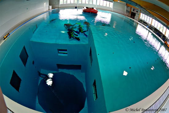 The Deepest Swimming Pool On Earth