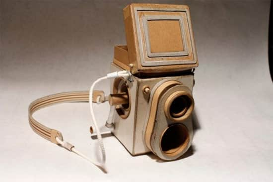 how to make things out of cardboard camera