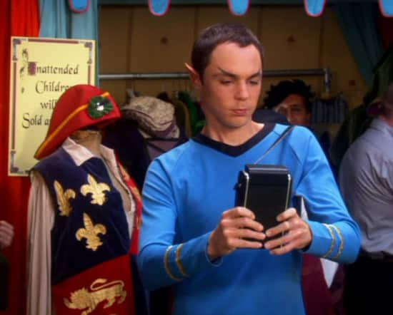 Sheldon Star Trek