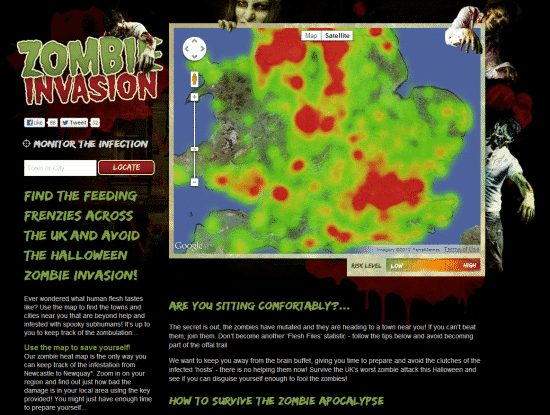 Zombie Invasion, a future reflecting