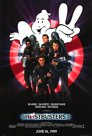 Bill Murray Movies and Ghostbusters II