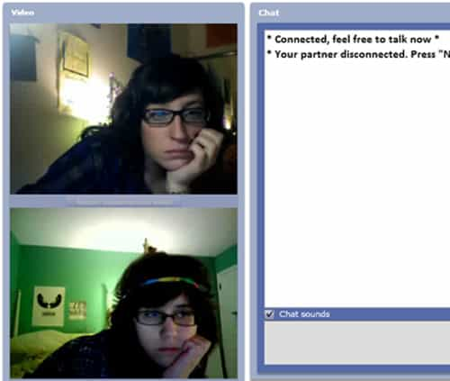 Chat Roulette Twins