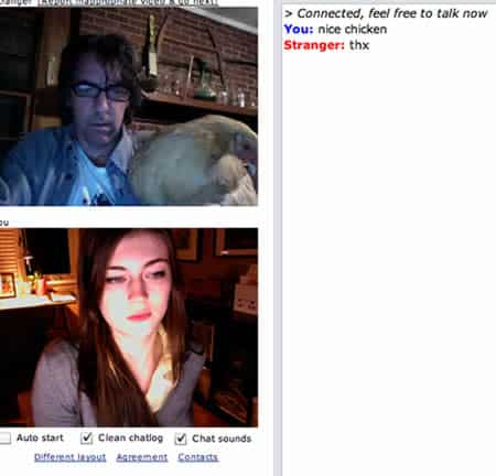 Chat Roulette Chicken