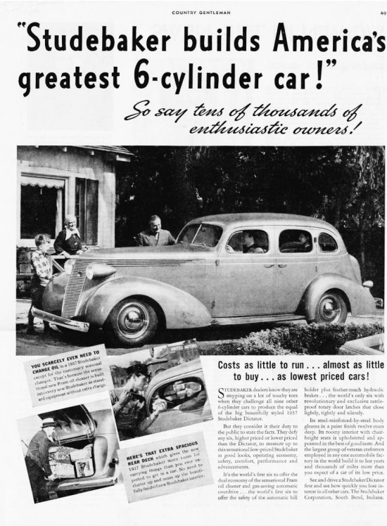 Worst Car Names and Studebaker Dictator