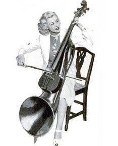 Bizarre Musical Instruments and The Cello Horn