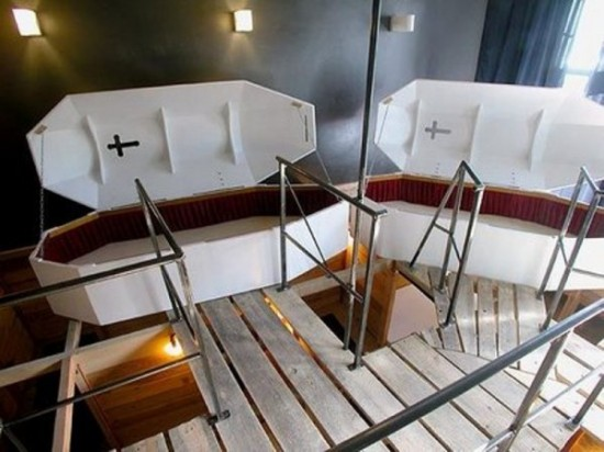 Bizarre Coffin Hotel