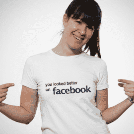 Least Funny T-shirt Jokes and the Facebook Joke