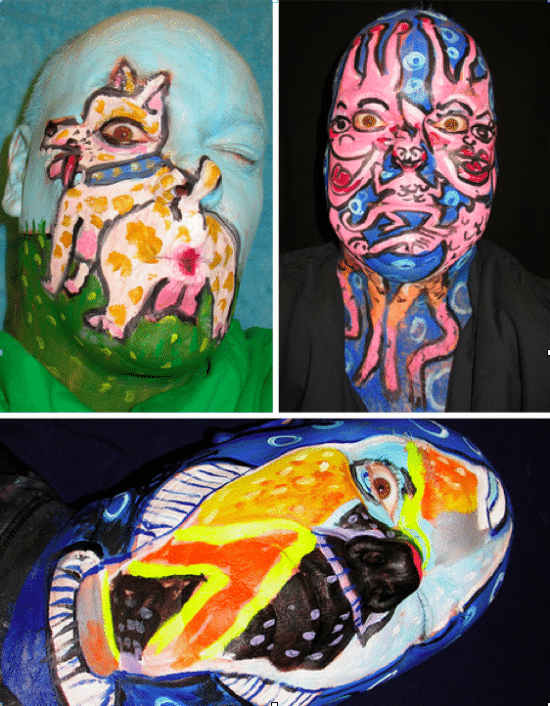 The Weird Animal Painted Faces