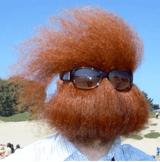 Strange Facial Hair, Beards and Moustaches