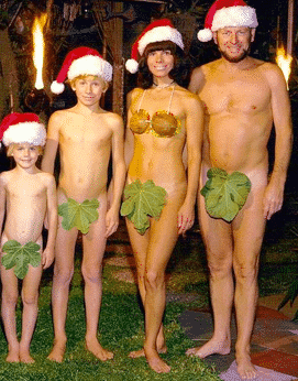 Horrible Christmas Cards and The Naked Family Card