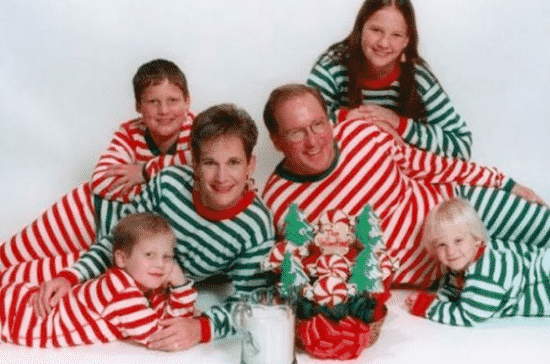 Horrible Christmas Cards and The Stripy Family Card