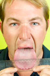 Strangest Human Body Parts and The Widest Tongue