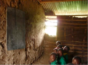 Poorly Equipped School in Uganda