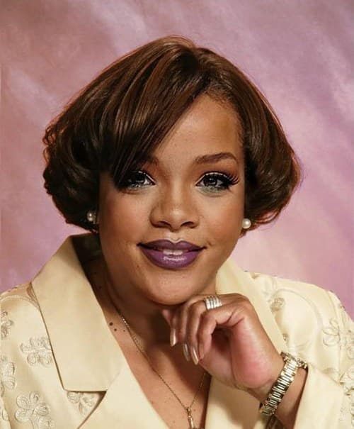 rihanna celebrities as average people