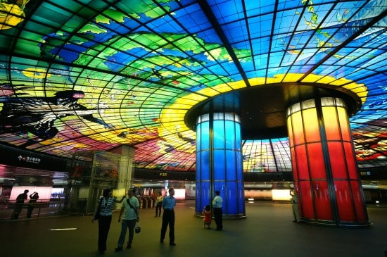 6 of the Most Impressive Subway Stations in the World5