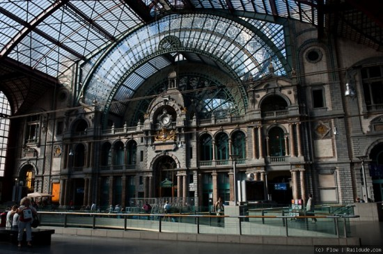 Antwerp Central Railway Station