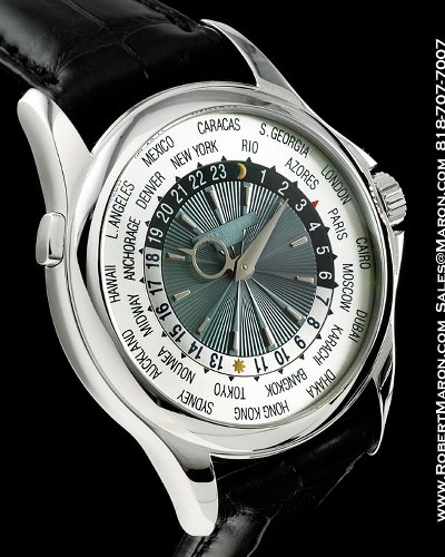 Patek Philippe – Platinum World Time