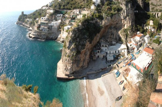 Praiano is an Italian coastal town.