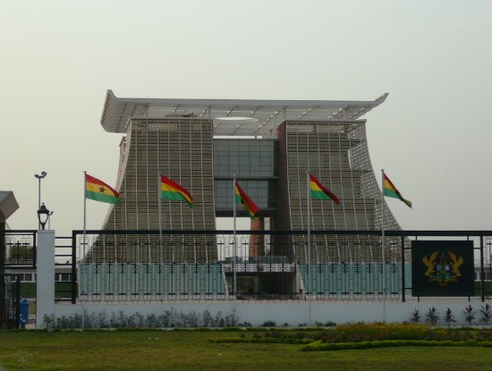 The Flagstaff House, Ghana