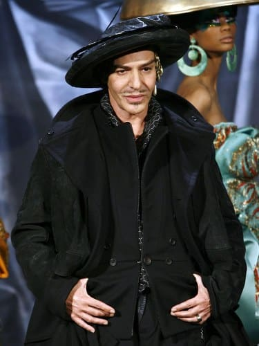 john galliano most influential fashion designers