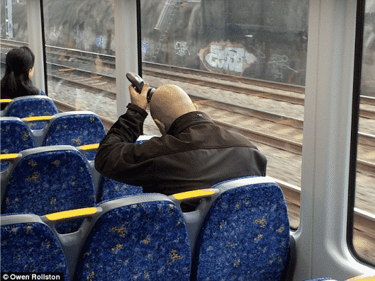 The Funniest Things about Public Transport and People Shaving Head