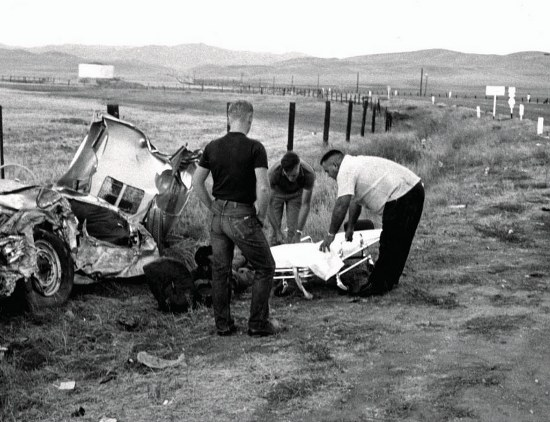 fatal car accidents james dean