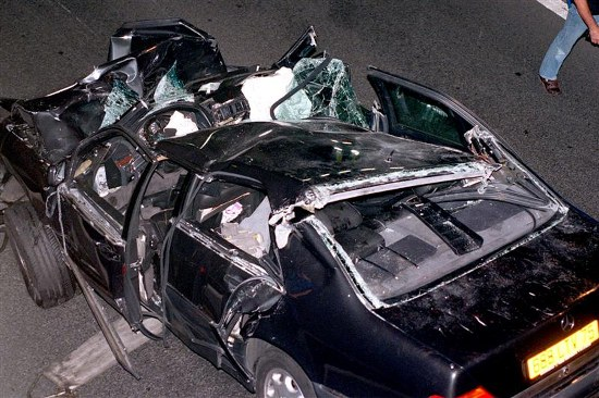 fatal car accidents princess diana