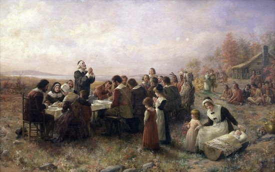 history of thanksgiving 1