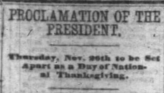 history of thanksgiving 3