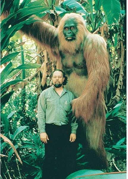 Extinct Animals and the Gigantopithecus