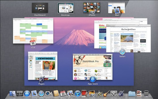 Apple OS X 10.11 El Capitan Mission_Control