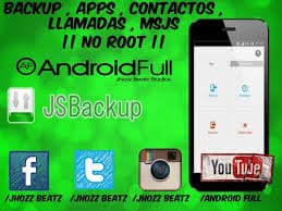 JS Backup free android applications