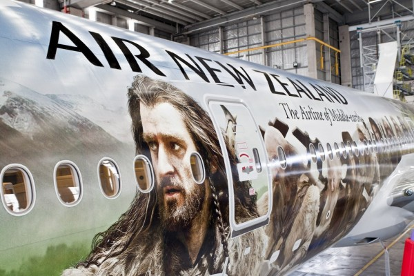 Airplane commercials are on the list of 5 Things The Hobbit Movies Spent Money On