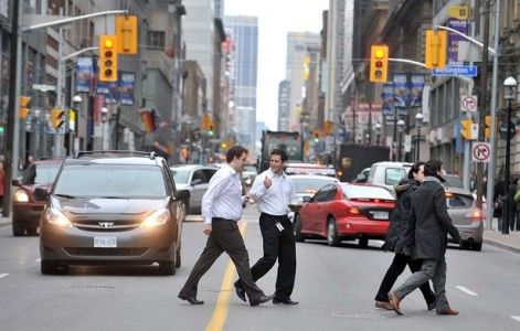 Jaywalking is discussed as part of some New York native thoughts.