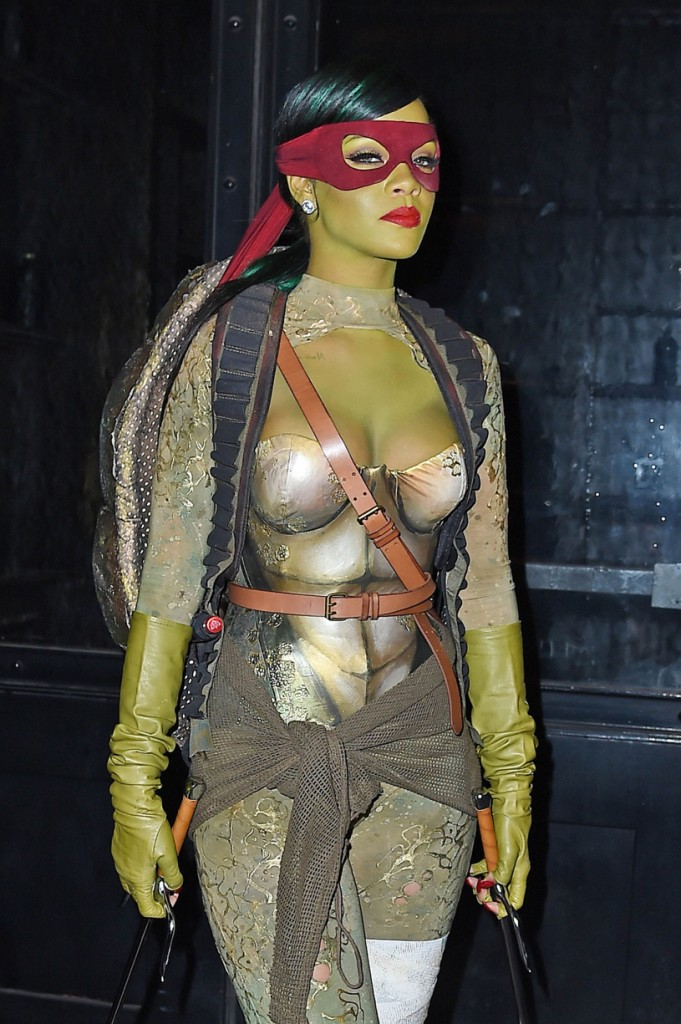 The list of 5 times celebrities nailed their Halloween costume includes Rihanna