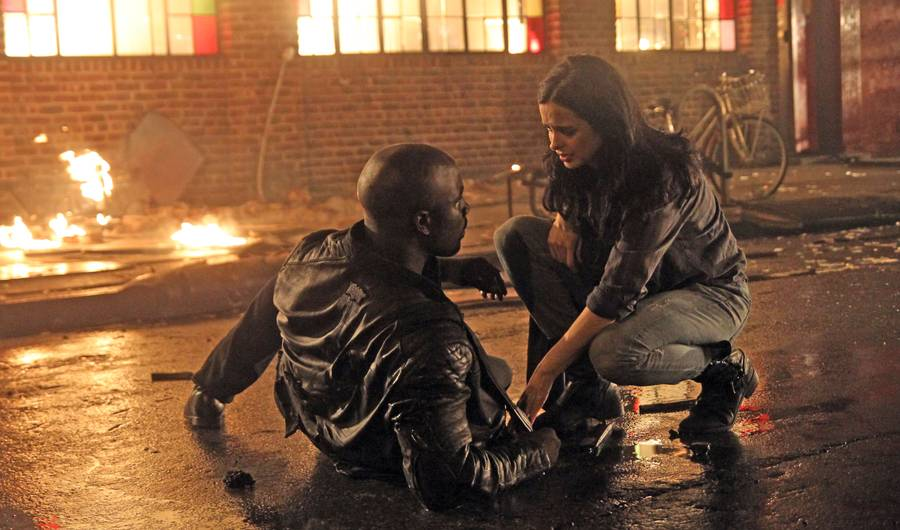 The battle between the two ranks as one of the best Jessica Jones scenes.