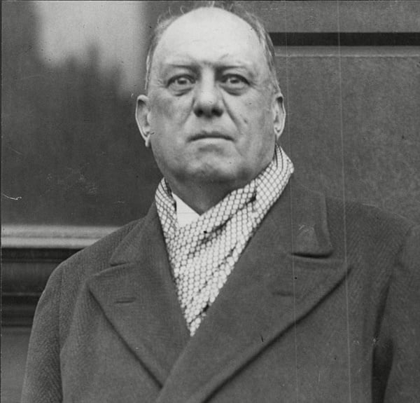 The death of Aleister Crowley took place at his home.
