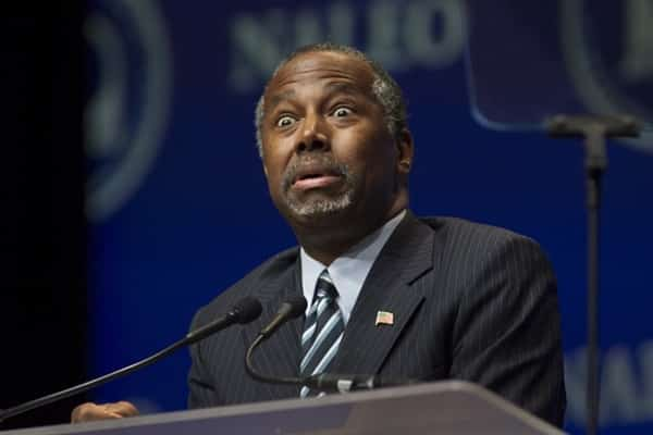 The list of laugh out loud wrong presidential candidates statements includes two entries from Ben Carson