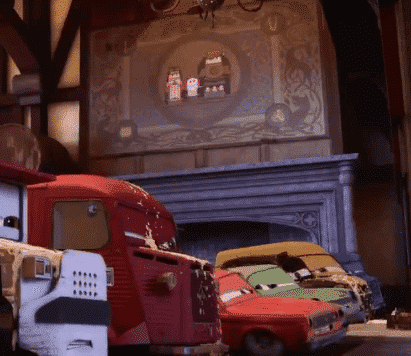 The top 12 Pixar easter eggs includes the Brave reference from Cars 2.