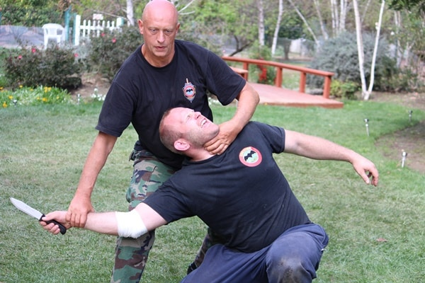 The list of 5 top brutal effective martial arts includes Systema, exemplified here.